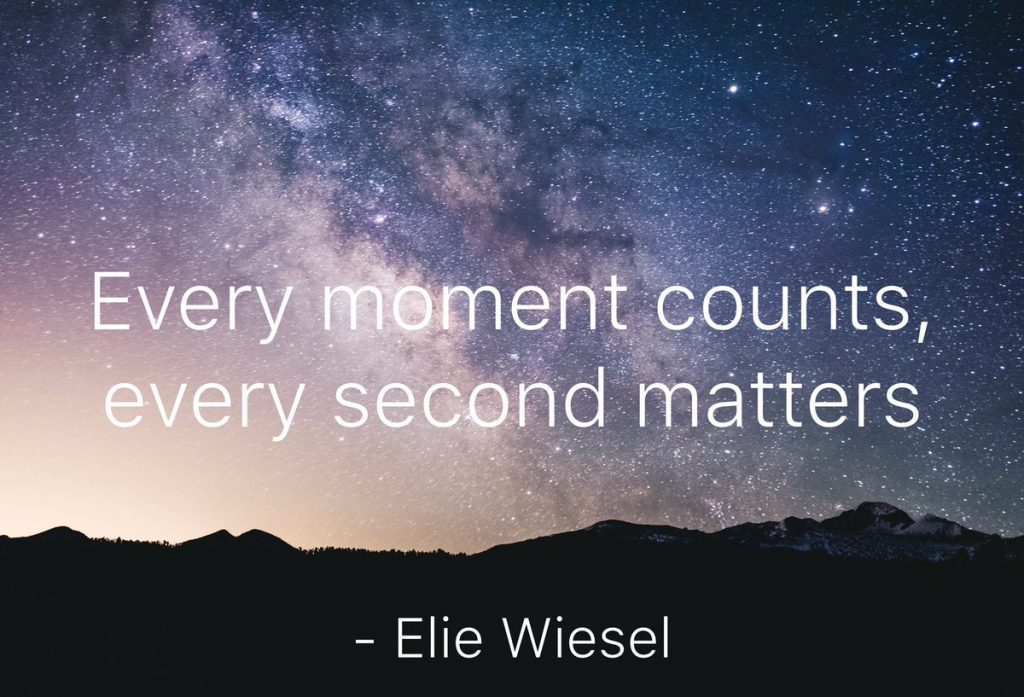 Every Moment Counts Quotes: # Quote Of The Day….