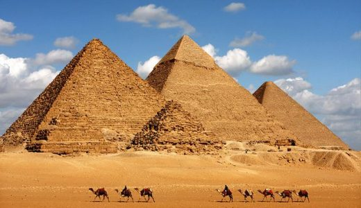 Cheops and His Great Pyramid at Giza