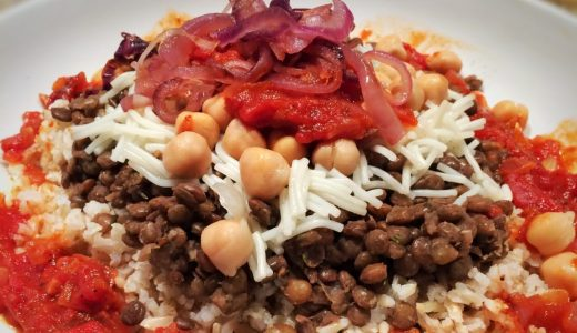 Recipe of the Day:    Kushari  :-)