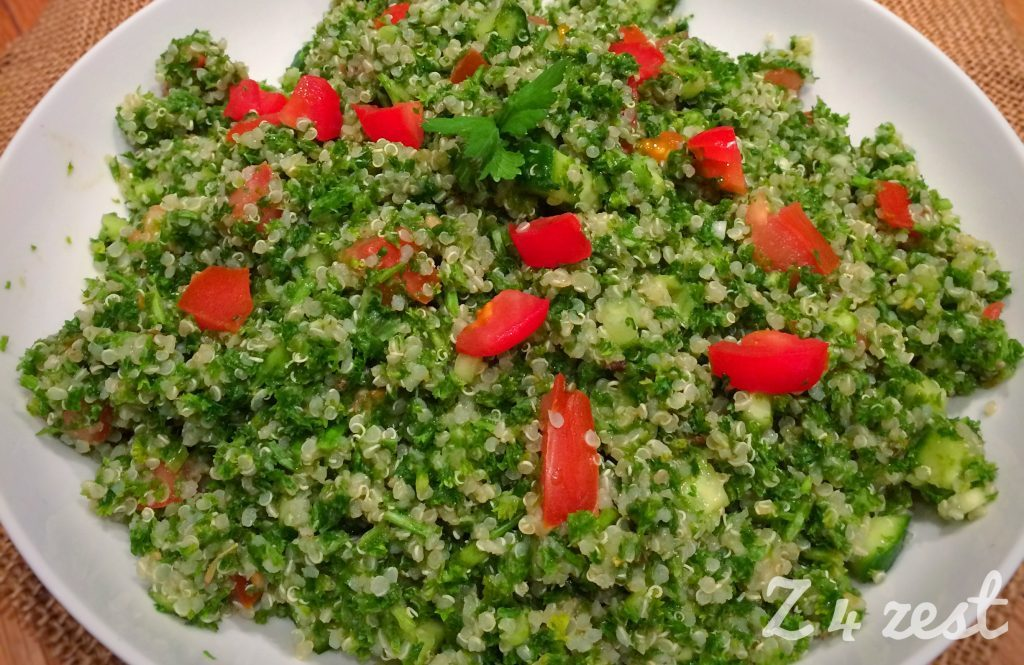 Recipe of the Day:  Tabbouleh :)