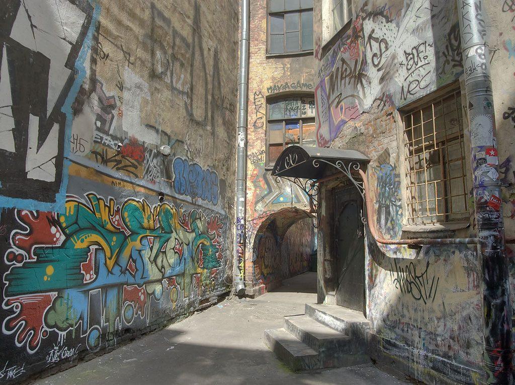 There is No Graffiti in Russia