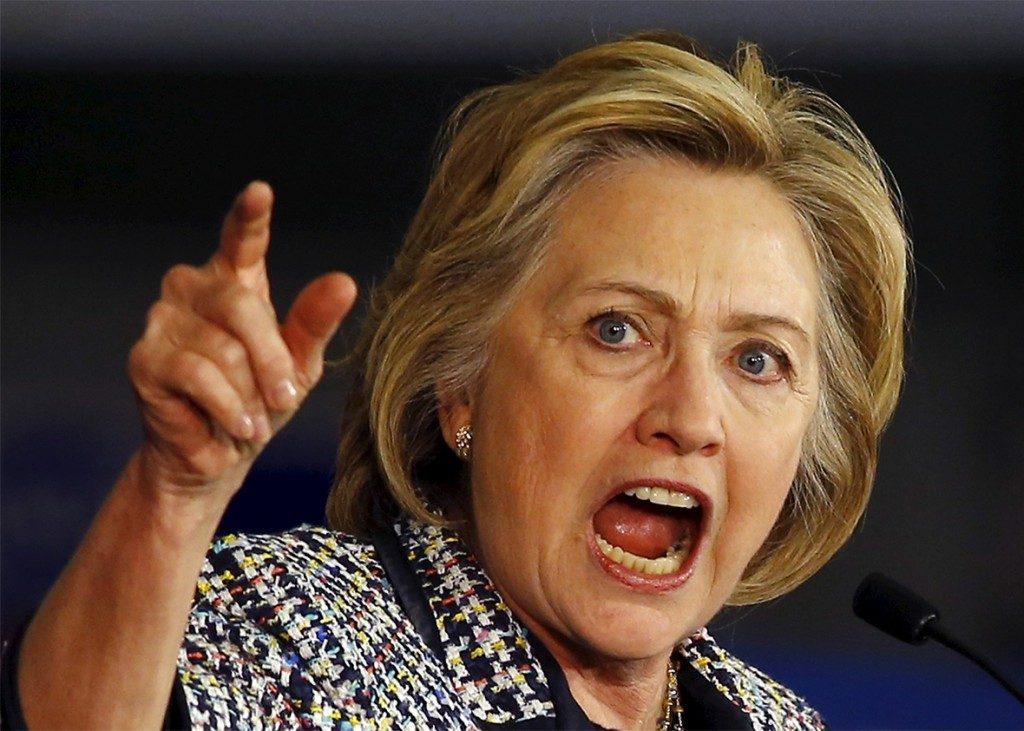 Rage on Hillary